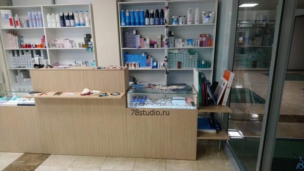 Мебель для магазина профессиональной косметики