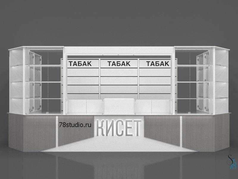 Дизайн-проекты торговой мебели и островков