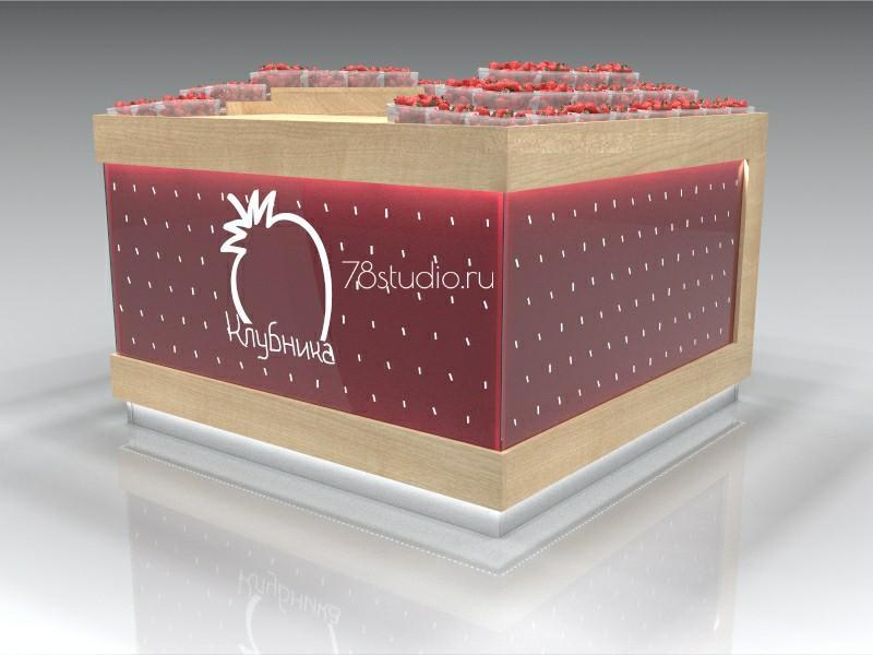 Павильон по продаже фруктов и ягод